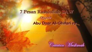 Inilah 7 Pesan Rasulullah SAW Kepada Abu Dzar Al-Ghifari