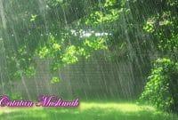 Amalan Sunnah Ketika Hujan Turun