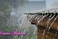 Doa Ketika Turun Hujan Dan Setelah Hujan
